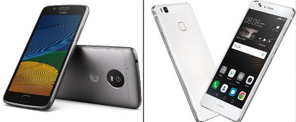 Comparativa Moto G5 Vs Huawei P9 Lite