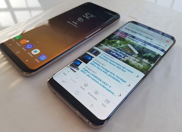 7 novedades del Galaxy S8 Plus frente al Samsung Galaxy S7 edge