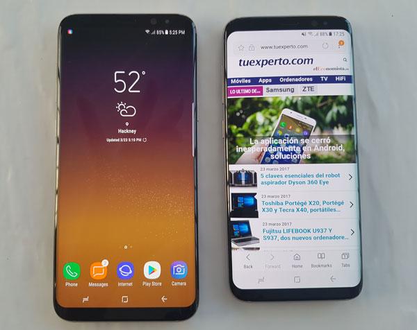 Los Samsung Galaxy S8 y S8+ reciben una actualización con mejoras