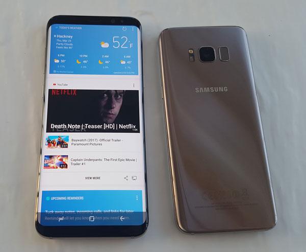 El Samsung Galaxy S8+ también es más potente