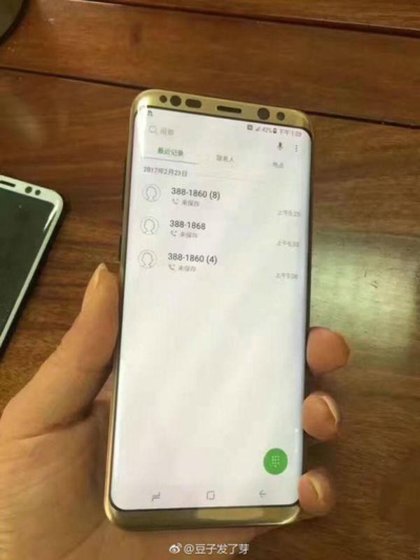 Aparecen imágenes del Samsung Galaxy S8 + en color oro