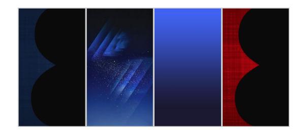 Samsung Galaxy S8 fondos