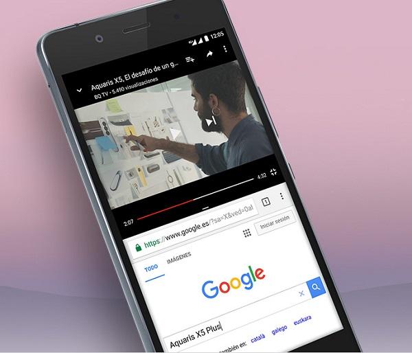 BQ Aquaris X5 Plus se actualizará a Android 8 Oreo