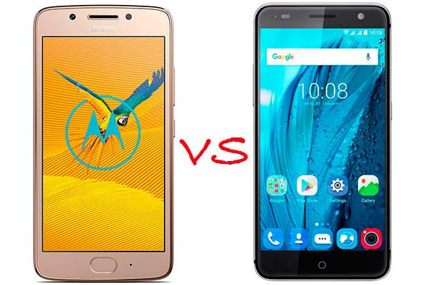 Comparativa Moto™ G5 vs ZTE Blade V7