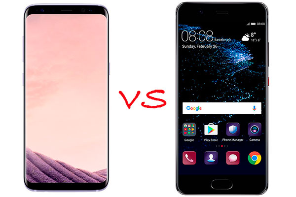 comparativa samsung galaxy s8 vs huawei p10. Black Bedroom Furniture Sets. Home Design Ideas
