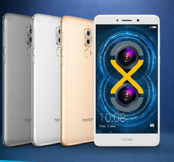 El Honor 6X se actualiza a Android 7 Nougat