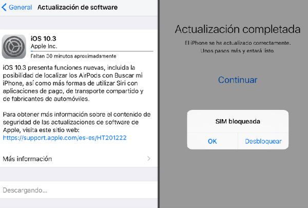 iOS 10.3 software