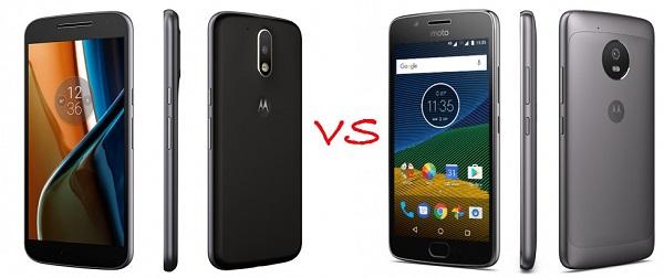 Comparativa Moto G5 vs Moto G4