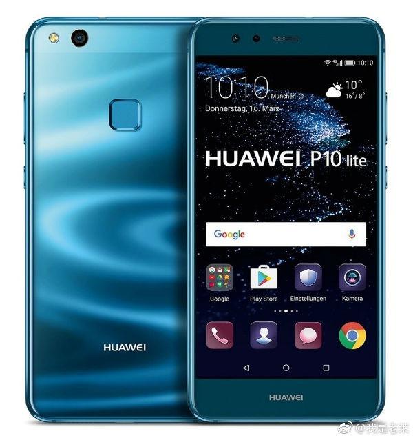 El Huawei P10 Lite en color azul llegará a Europa