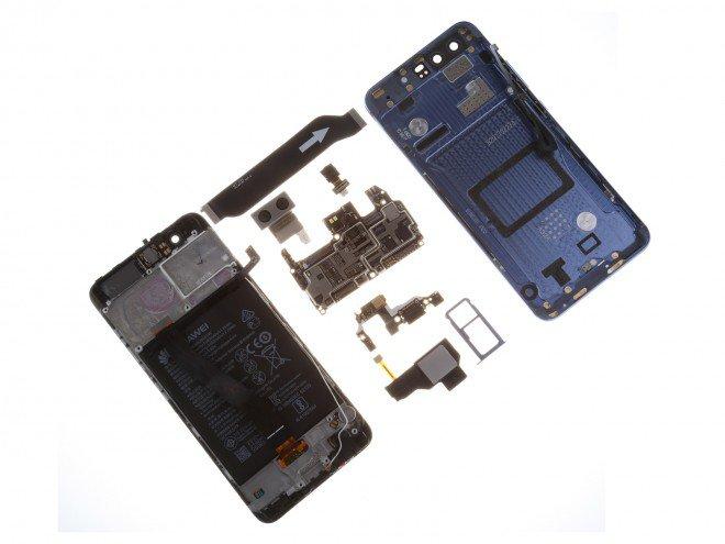Así es el Huawei P10 por dentro
