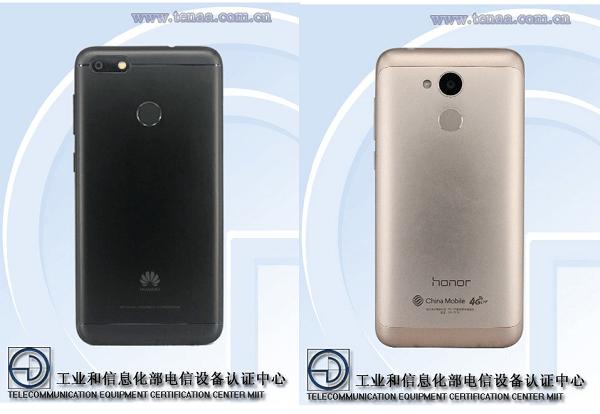 Desveladas imágenes y especificaciones de dos móviles Huawei de gama media