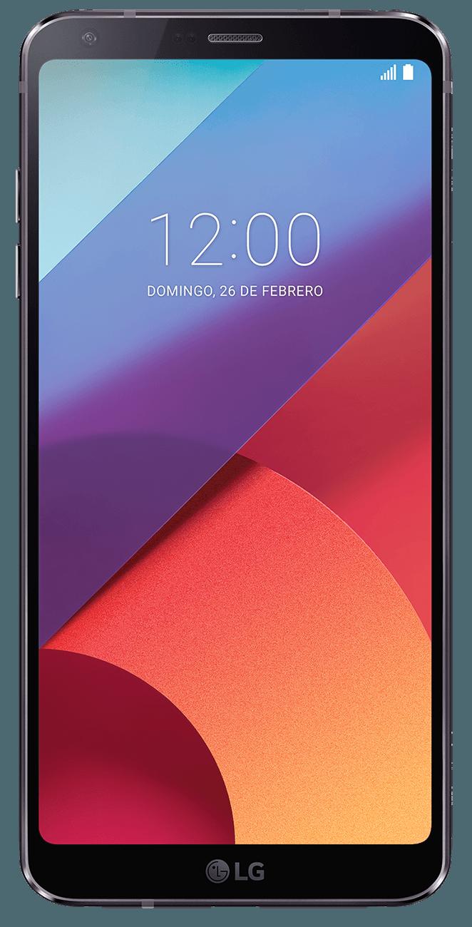 LG G6 en negro, precios y tarifas con Vodafone