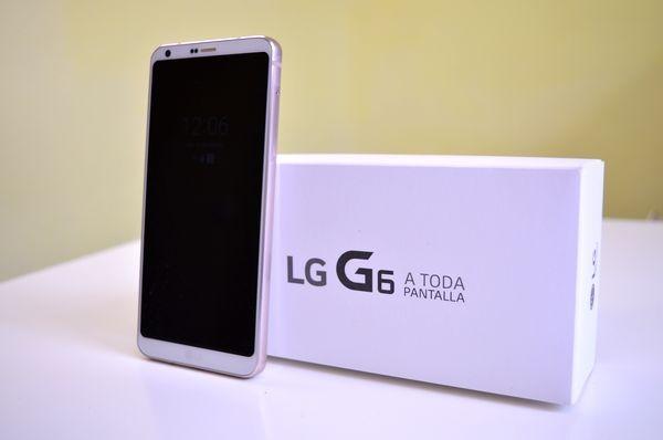 lg g6 características