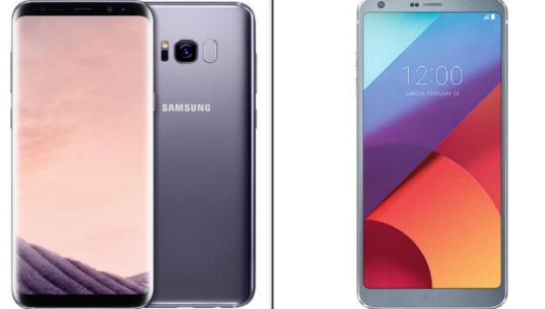 Comparativa Samsung Galaxy S8 vs LG G6