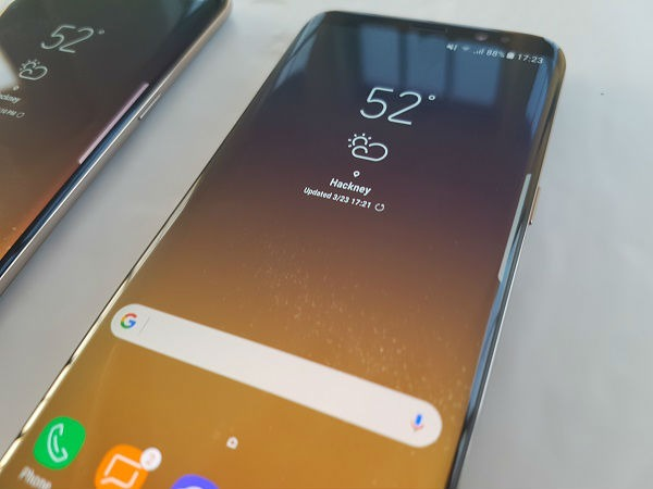 Cómo activar el botón en pantalla para hacer fotos del Samsung Galaxy S8