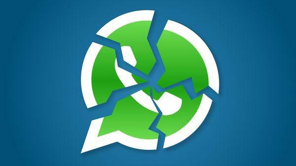 WhatsApp problemas