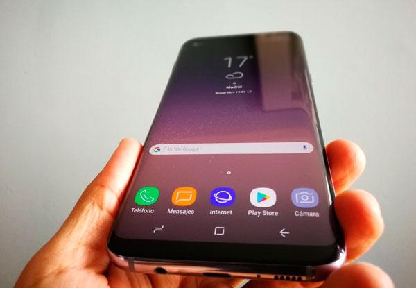 Cómo hacer una captura de pantalla con el Samsung Galaxy S8 y S8+