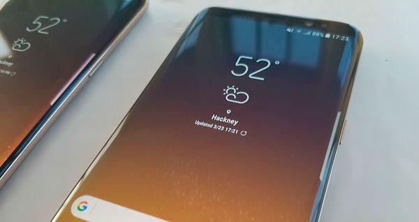 coste sustituir pantalla samsung galaxy s8+