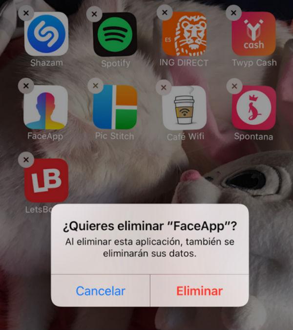 iPhone 7 espacio