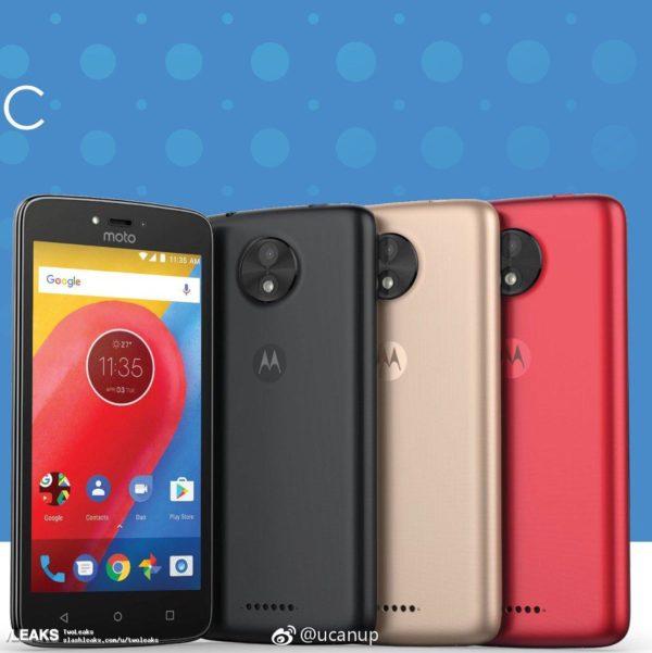 Motorola Moto C: filtrados los colores disponibles