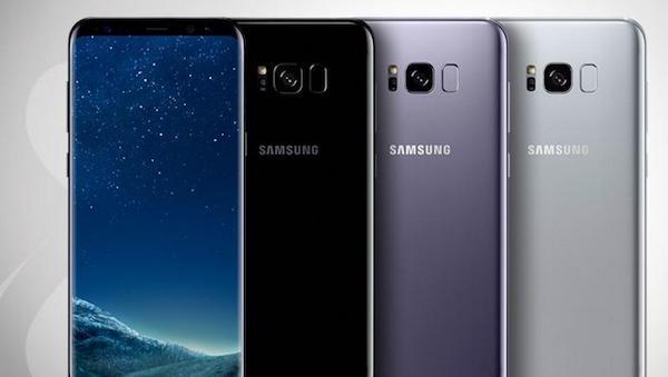 Todas las características de la pantalla del Samsung Galaxy S8