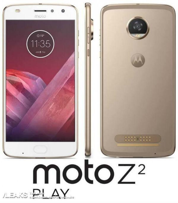 Moto Z2 Play aparece en vídeo mostrando diseño y especificaciones