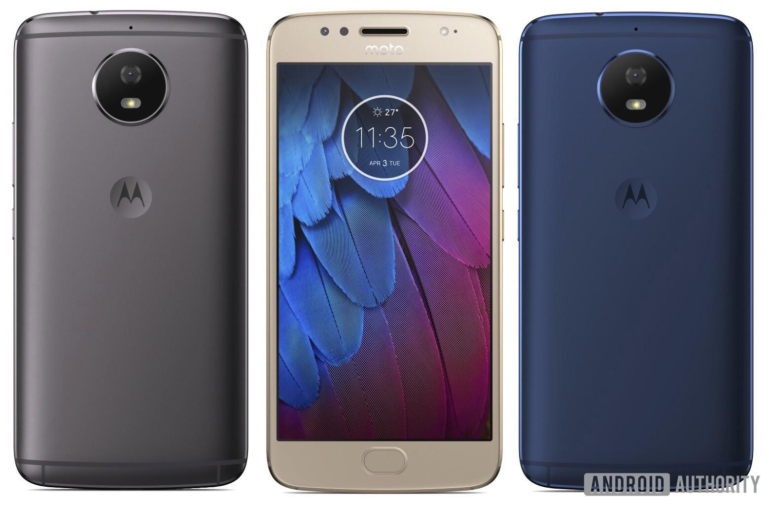 Filtradas imágenes del Motorola℗ Moto G5S
