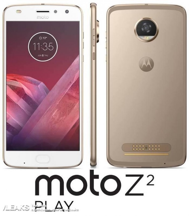 Moto Z2 Play, desveladas sus especificaciones