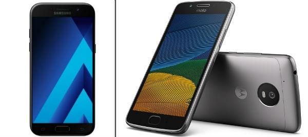 Comparativa Samsung Galaxy A5 2017 vs Moto G5