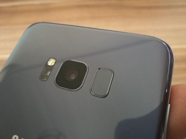 Samsung Galaxy S8+ lector de huellas