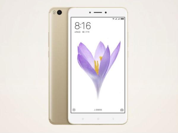 Xiaomi Mi Max 2 diseño
