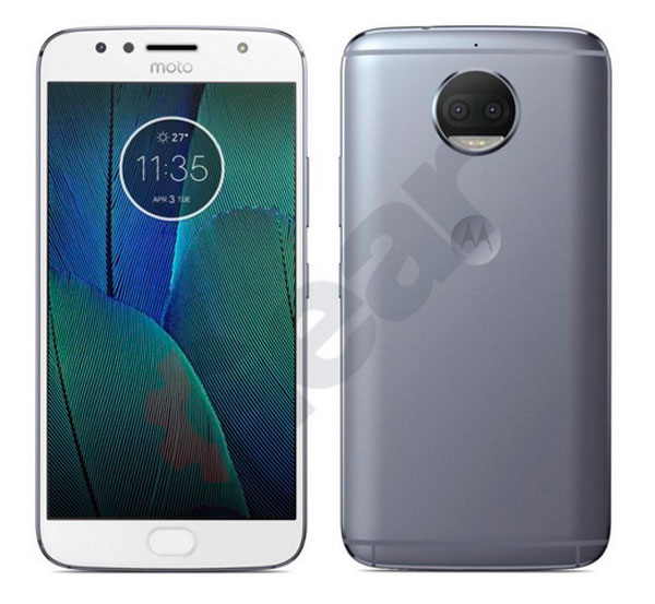 imagenes Moto G5S Plus blanco y plata