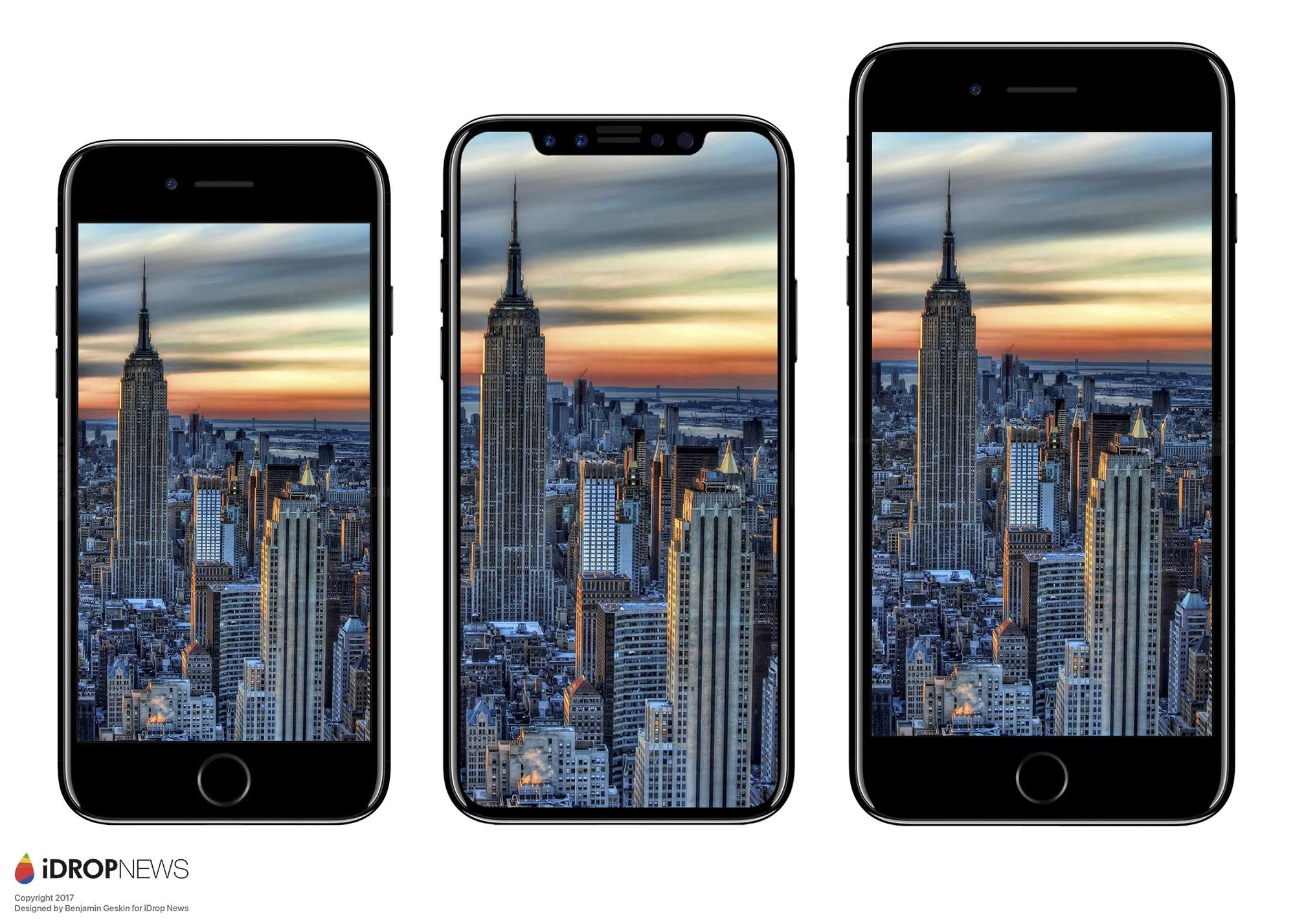 iPhone 7 vs <stro />iPhone℗</strong> 8&#8243; width=&#8221;600&#8243; height=&#8221;428&#8243; srcset=&#8221;https://www.tuexpertomovil.com/wp-content/uploads/2017/05/iphone-8-tamaño-iphone-7.jpg 2000w, https://www.tuexpertomovil.com/wp-content/uploads/2017/05/iphone-8-tamaño-iphone-7-300&#215;214.jpg 300w, https://www.tuexpertomovil.com/wp-content/uploads/2017/05/iphone-8-tamaño-iphone-7-768&#215;548.jpg 768w, https://www.tuexpertomovil.com/wp-content/uploads/2017/05/iphone-8-tamaño-iphone-7-1024&#215;731.jpg 1024w&#8221; sizes=&#8221;(max-width: 600px) 100vw, 600px&#8221; /></p> <p>En BGR cuentan que iDrop News ha filtrado muchas imágenes (posiblemente conceptuales) del tamaño del <strong>iPhone℗</strong> 8. Este aparato tendrá una pantalla con marcos muy reducidos, por lo tanto, sus dimensiones serán además más reducidas. Por lo menos, que las del <strong>iPhone℗</strong> 7 Plus. <strong>El <strong>iPhone℗</strong> 8 tendría unas dimensiones de 143.59 x 70.94 x 7.57 mm</strong>. Mientras que la del <strong>iPhone℗</strong> 7 son de 138,3 x 67,1 x 7.1 mm. Así que, logramos decir que el <strong>iPhone℗</strong> 8 será más pequeño que el <strong>iPhone℗</strong> 7 Plus, pero más enorme que el <strong>iPhone℗</strong> 7. Debemos destacar, que el <strong>iPhone℗</strong> 8 tendría una pantalla más enorme que el modelo Plus del 7. Aun así, no lo gana en tamaño.</p> <h2>Samsung Galaxy℗ S8 vs <strong>iPhone℗</strong> 8, duelo de tamaños</h2> <p><img class=