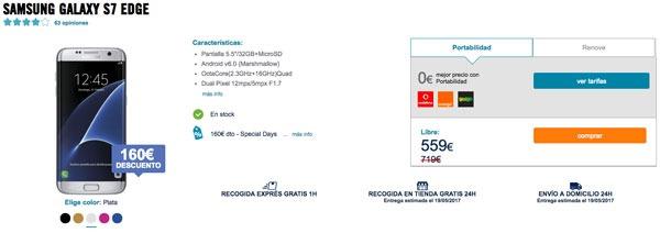 ofertas Samsung Galaxy S7 edge phone house