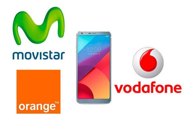 Ofertas en móviles de Vodafone, Movistar y Orange para mayo