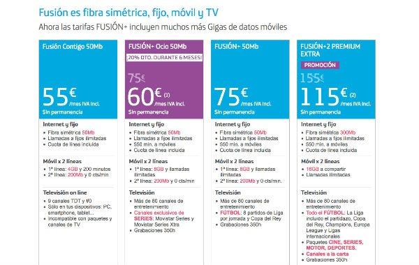 Tarifas actualizadas de movistar vodafone y orange - Vodafone tarifas internet casa ...