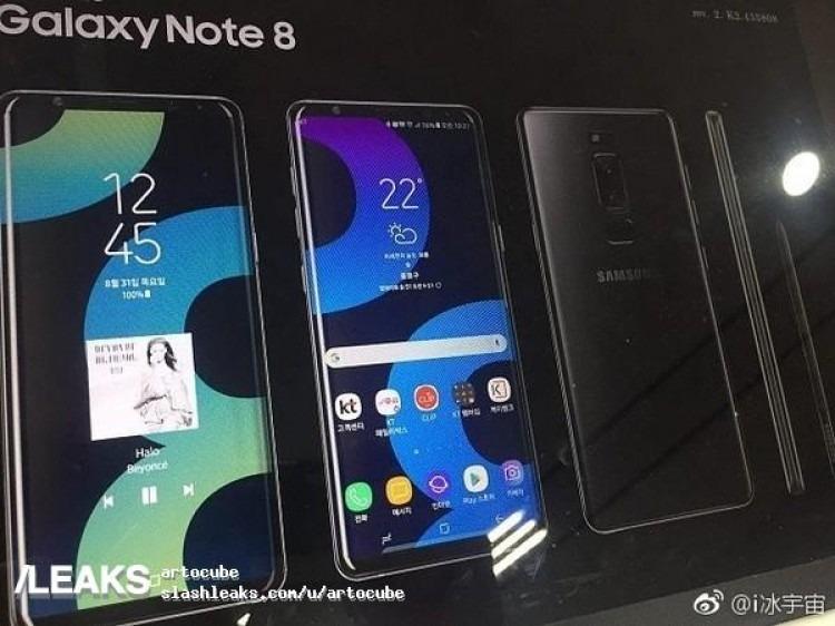 Galaxy Note ocho poster