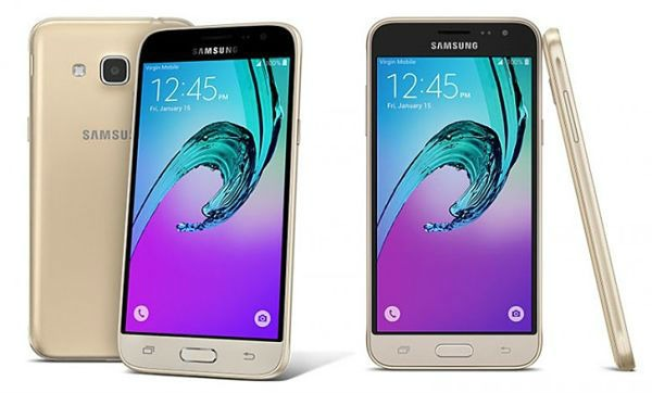 Samsung Galaxy J3 2016 camara
