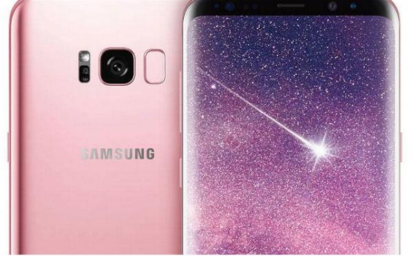 El Samsung Galaxy S8 Plus se viste de rosa