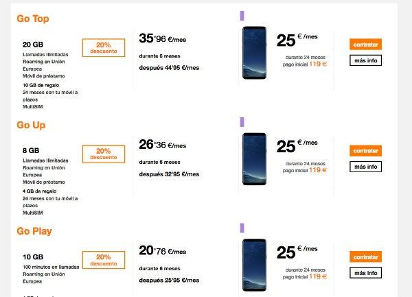 Samsung Galaxy℗ S8 Orange