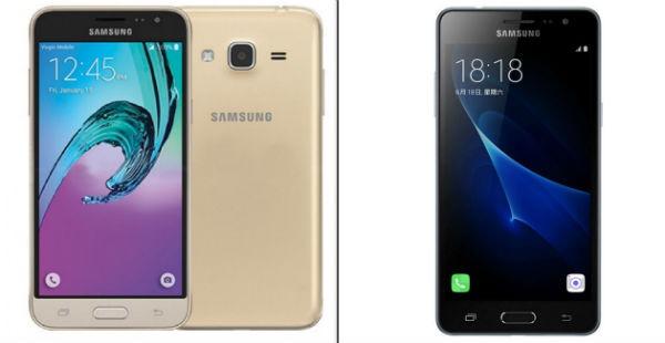 Las cinco diferencias entre el Samsung Galaxy J3 2016 y Galaxy J3 2017