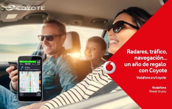 Vodafone incluyen un año del navegador Coyote gratuitas para usuarios Red y One