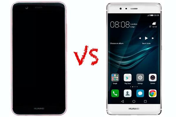 Comparativa Huawei Nova 2 Plus vs Huawei P9