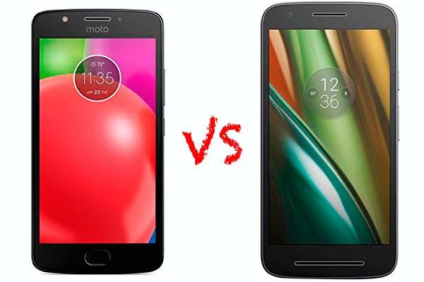 Comparativa Motorola Moto E4 vs Moto E3