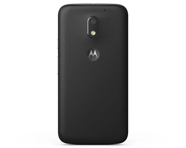 Comparativa Motorola™ Moto™ E4 vs Moto™ E3 parte trasera Moto™ E3
