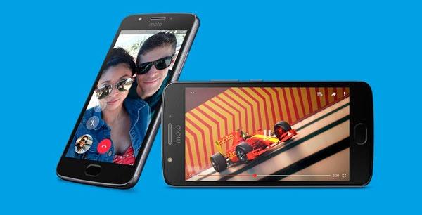 Comparativa Motorola™ Moto™ E4 vs Moto™ E3 parte bateria Moto™ E4