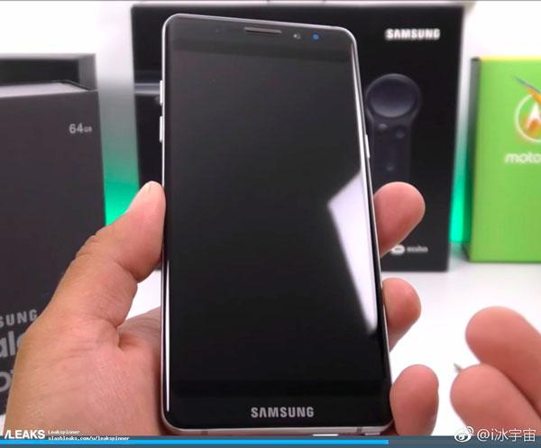Aparecen nuevos renders del Samsung Galaxy Note 8