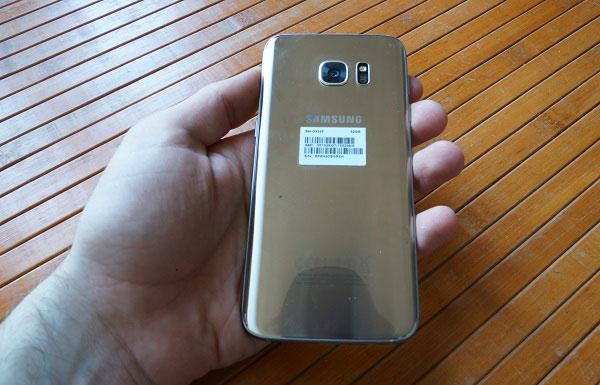 oferta Samsung™ Galaxy™ S7 edge carcasa trasera brillante