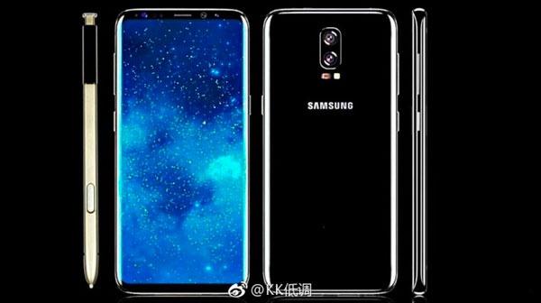 Los cinco rumores con mas potencia incluso ahorita del Samsung™ Galaxy™ Note 8