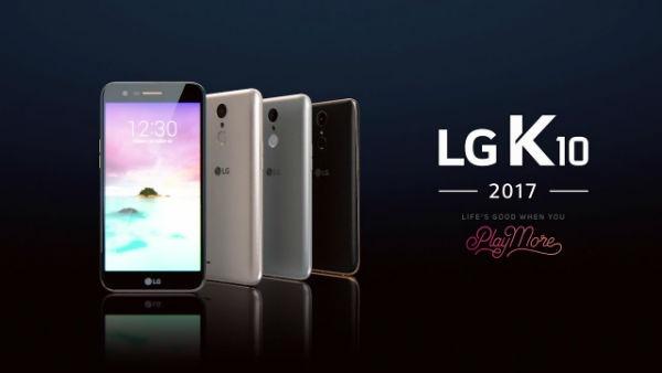 LG K10 2017, precios y tarifas con Movistar, Vodafone y Orange